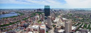 View of Boston from Prudential Center